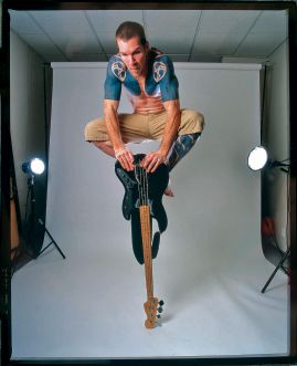 Tim Commerford from Rage Against the Machine tattoos