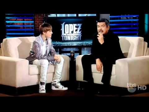Justin Bieber on George Lopez Tonight 2011....He's so presh!