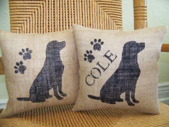 Labrador pillow dog pillow puppy pillow pet by KelleysCollections