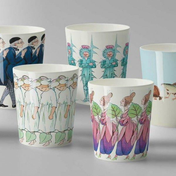 Design House Stockholm - Elsa Beskow Fish Walk Cup