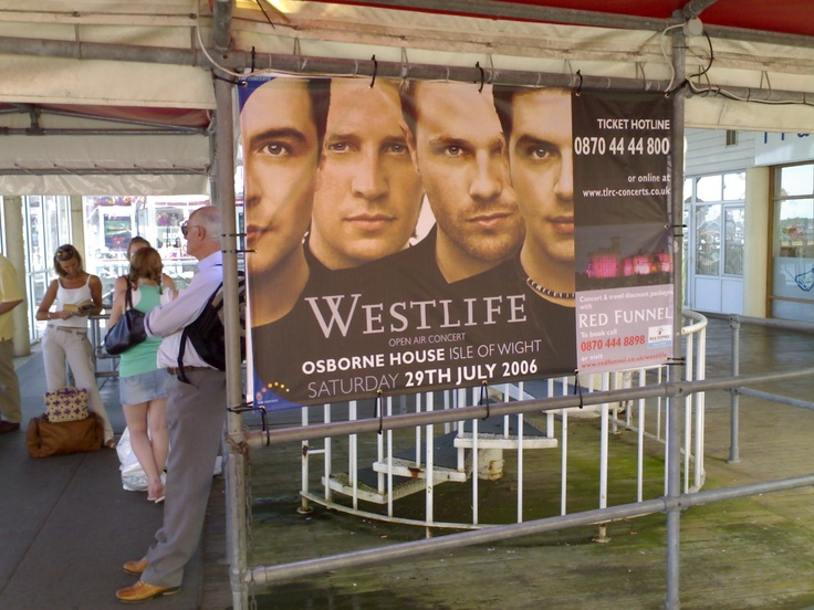 From small banners on railings like our Westlife campaign at Southampton Ferry Terminal here, to massive building wrap banners, covering scaffolding sites... we offer dynamic design, print and installation all under one roof. For all of your advertising needs at unbeatable rates - www.adsdirect.org.uk