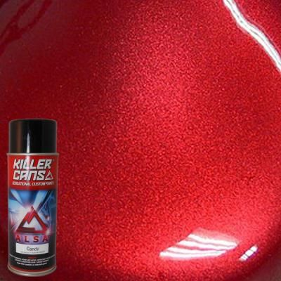 To respray washer and dryer: Alsa Refinish 12 oz. Candy Apple Red Killer Cans Spray Paint-KC-AR at The Home Depot