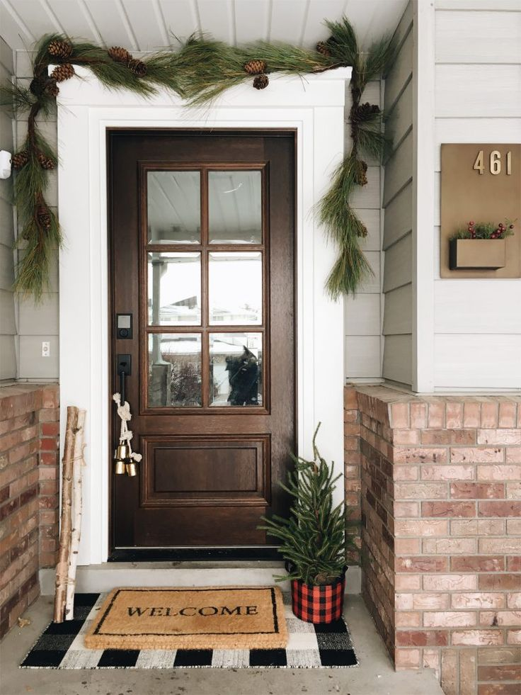 Christmas Front Door Goals