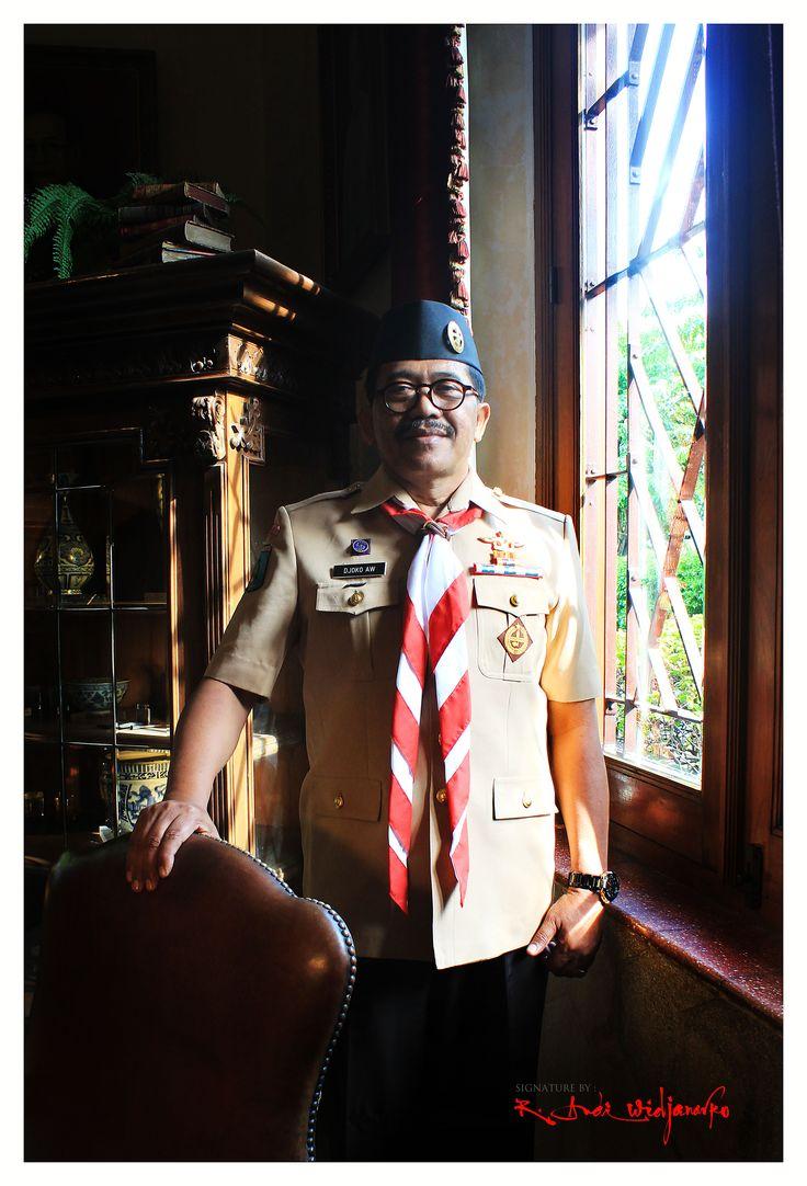 Djoko Adi Walujo #ISJ002 Rektor Universitas PGRI Adi Buana Surabaya  #ISJ #scoutportraiture #surabaya #gerakanpramuka