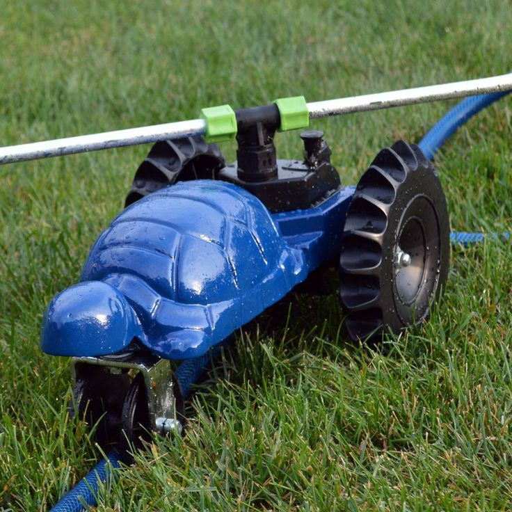 Ray Padula Water Wheels Turtle Revolving Traveling Sprinkler-RP-WWTS at The Home Depot