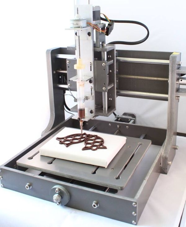 World's first 3D chocolate printer makes 3D chocolate portrait from a photo