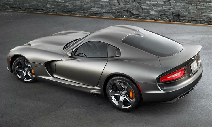 Anodized Carbon Special Edition SRT Viper GTS Photo by: SRT