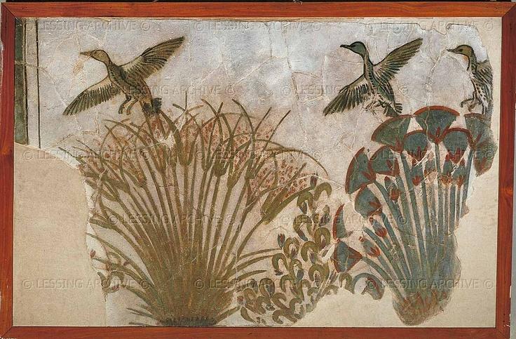 http://www.lessing-photo.com/p3/080121/08012139.jpg  Mural Fragment Akhenaton's Palace