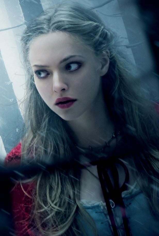 Amanda Seyfried, Red Riding Hood. She is one of my favorite actors. She is absolutely amazing, funny, and beautiful.