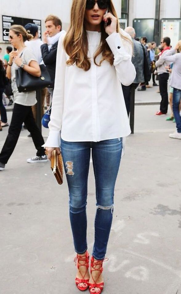 137 best images about Distressed Denim on Pinterest | Blazers ...