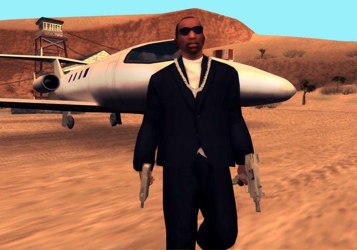 "Carl Johnson ""CJ"" from GTA San Andreas"