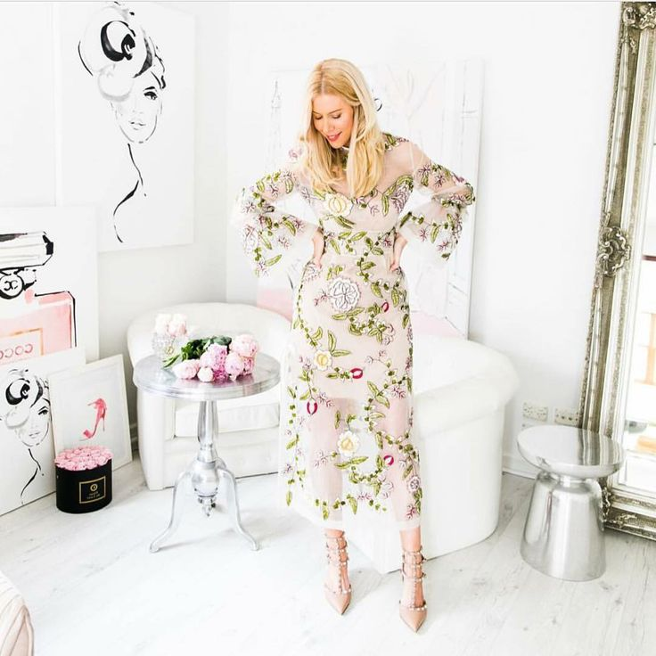 Kerrie Hess //  Finley Gown in Ivory.