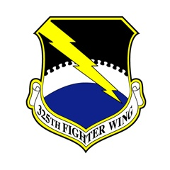 Tyndall Air Force Base, 325th Fighter Wing logo  #USAF #Florida #AvGeek #Tyndall