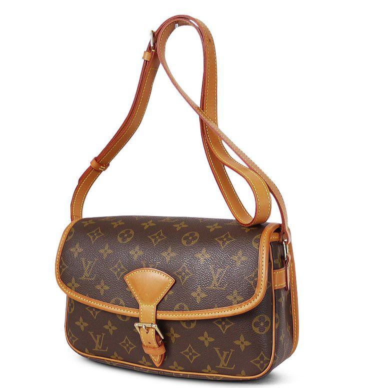 Louis Vuitton Monogram Sologne Crossbody Bag