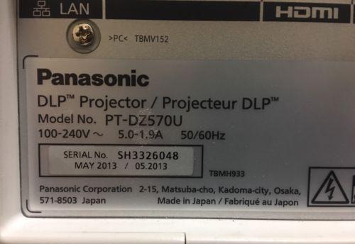 Panasonic Projectors