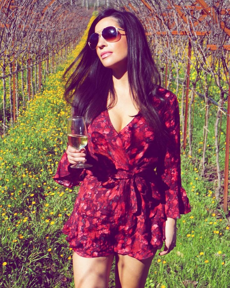 Free People 'All the Right Ruffles' Romper at Nordstrom  What to eat, drink and wear in Anderson Valley wine country