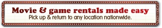 Sign up for free movie/game rental with Red Box