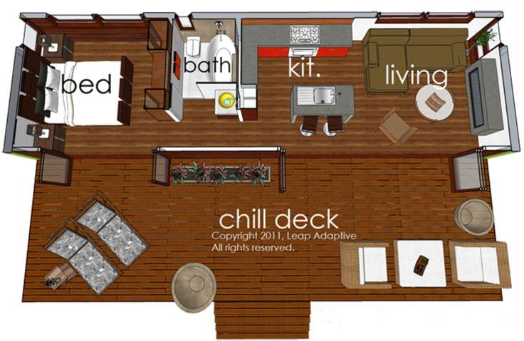 Houseplans.com Modern Main Floor Plan Plan #484-4