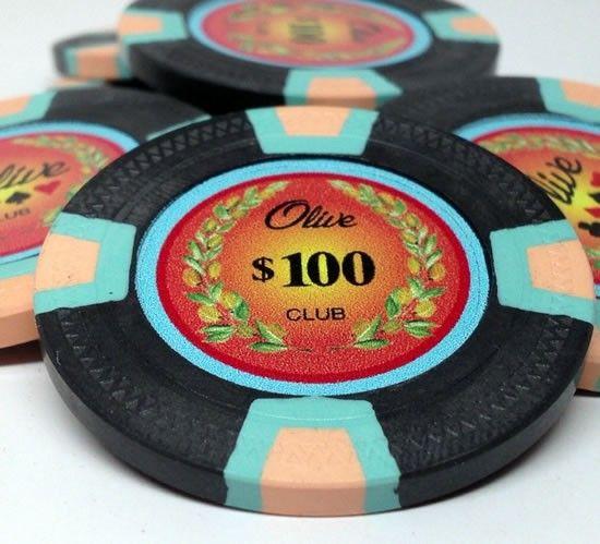 Prestige Series 10 Gram Trapezoid Clay Custom Poker Chips