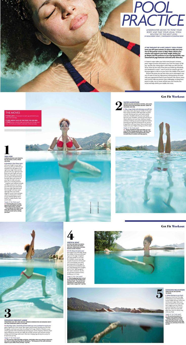 Best 25 Pool Workout Ideas On Pinterest