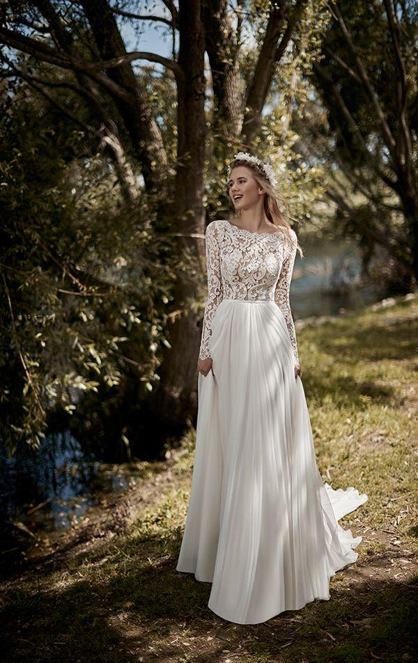 d0231f90728 Ονειρικα ρομαντικα νυφικα φορεματα   Bridal gowns   Wedding dresses ...