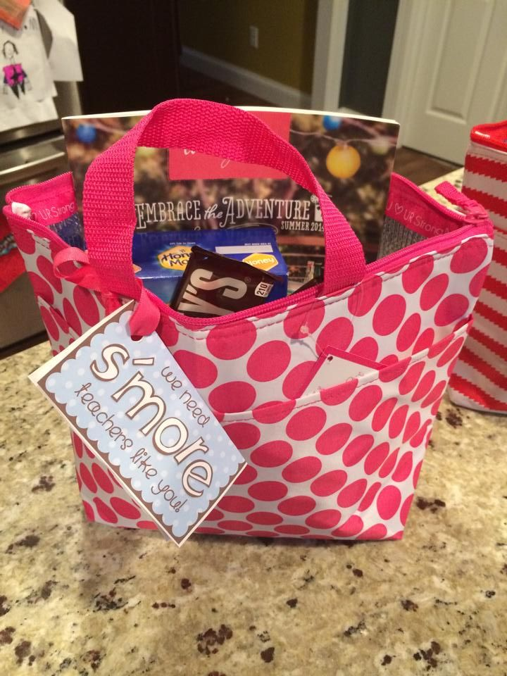 Cute gift idea, thirty one thermal for an awesome teacher!!!