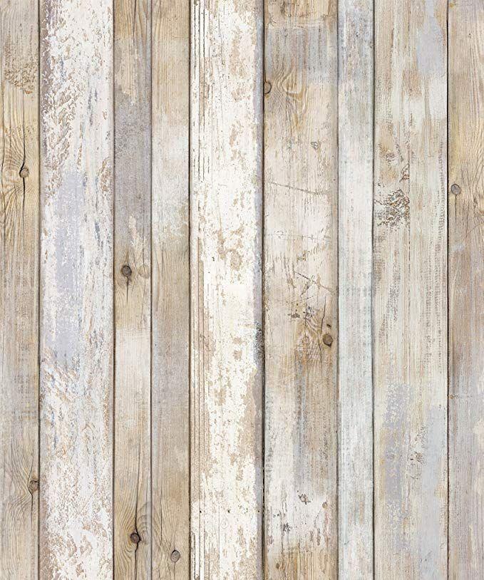 Reclaimed Wood Distressed Wood Panel Wood Grain Self Adhesive Peel Stick Wallpaper Vbs308 How To Distress Wood Wood Grain Wallpaper Wood Plank Wallpaper