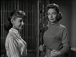 Shelley Fabares and Donna Reed in The Donna Reed Show (1958)