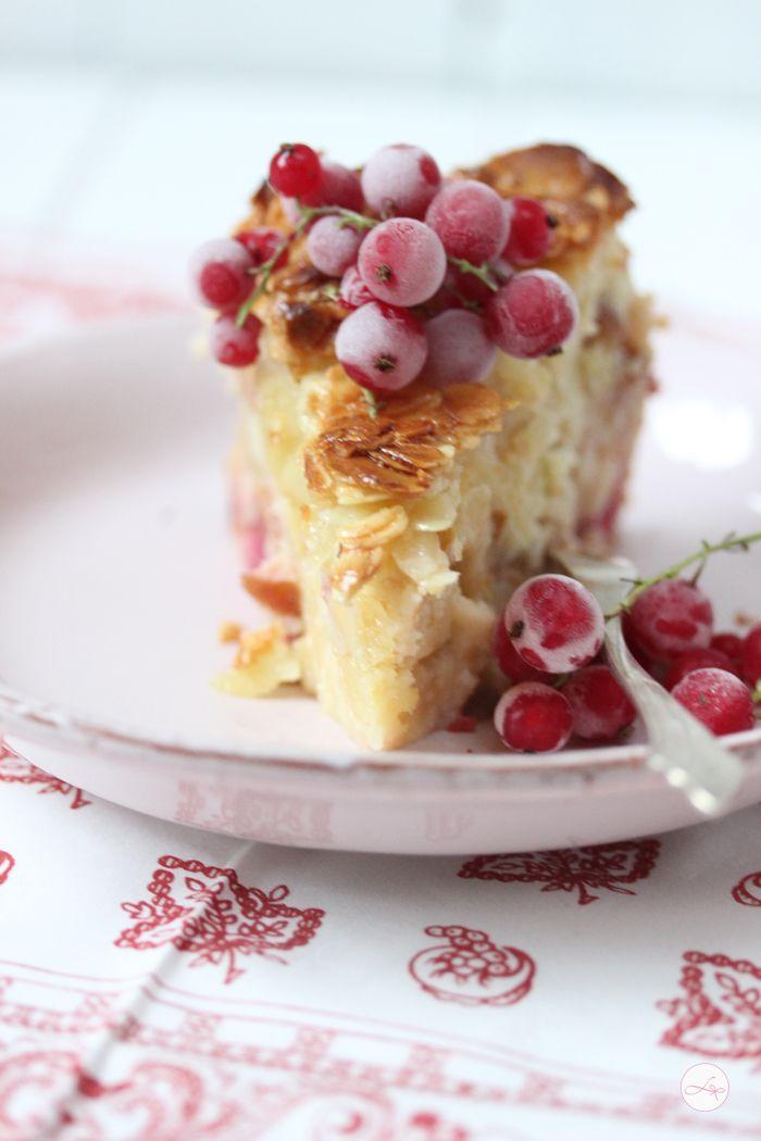 Apfel Johannesbeer Kuchen
