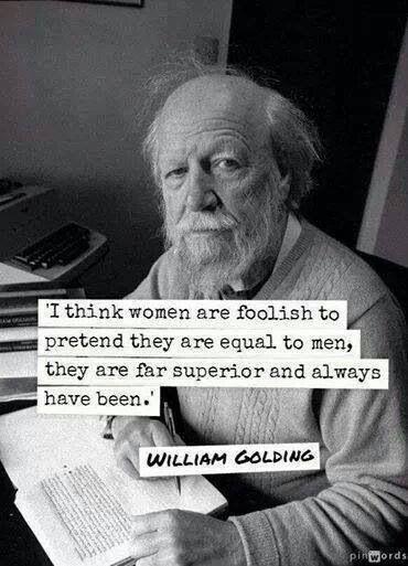 Women are far superior than men.