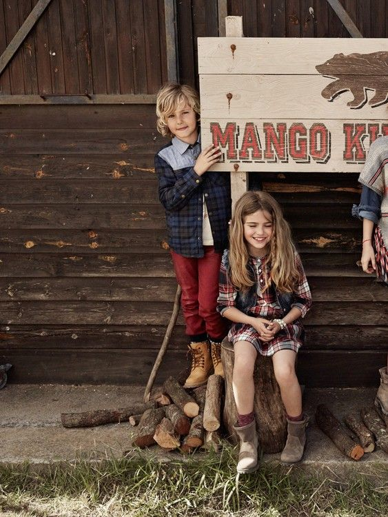 Mango - Mango Sonbahar Çocuk Kataloğu