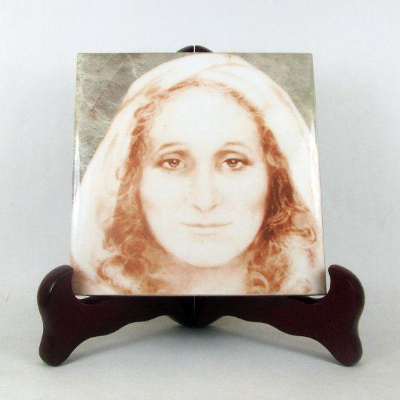 St Angela Merici  catholic saint  handmade by TerryTiles2014