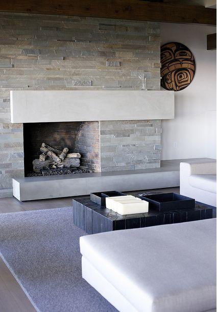 25 best Contemporary fireplaces ideas on Pinterest Modern