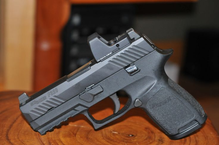 Sig Sauer P320 Compact with Trijicon RMR.