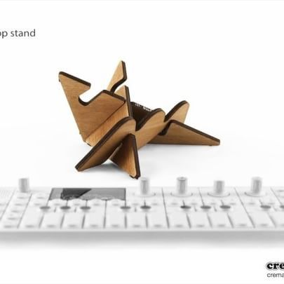 Which Cremacaffè stand for your TE OP-1 synth? Here is a short video showing different possibilities with  KOLIBRI, HERO and OP-Bunny stands. - - Find out more on Cremacaffè Blog: http://cremacaffedesign.com/blog/  #cremacaffedesign #op1 #synth #stand #op1stand #electronicmusic #korgvolca #korg #volca #volcasample
