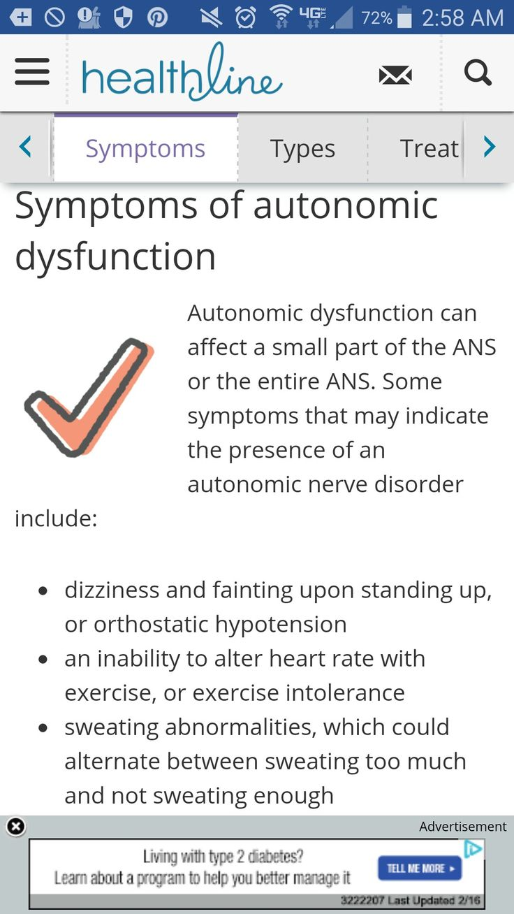 Autonomic Nerve Dysfunction