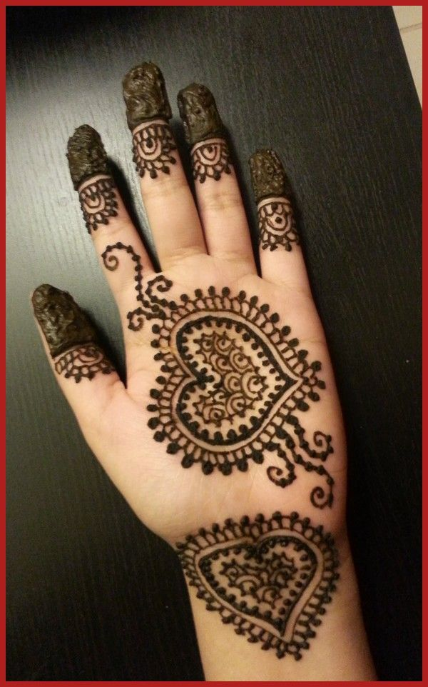 Mehndi Heart Designs : Best images about mehndi designs on pinterest hand