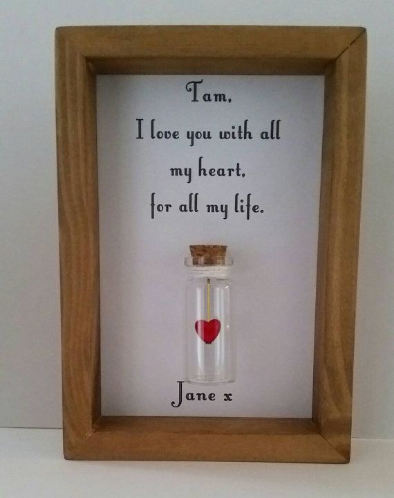 Romantic gift for boyfriend, Personalised gift for boyfriend, Boyfriend, Boyfriend gift, Can be personalised with names or your own message.