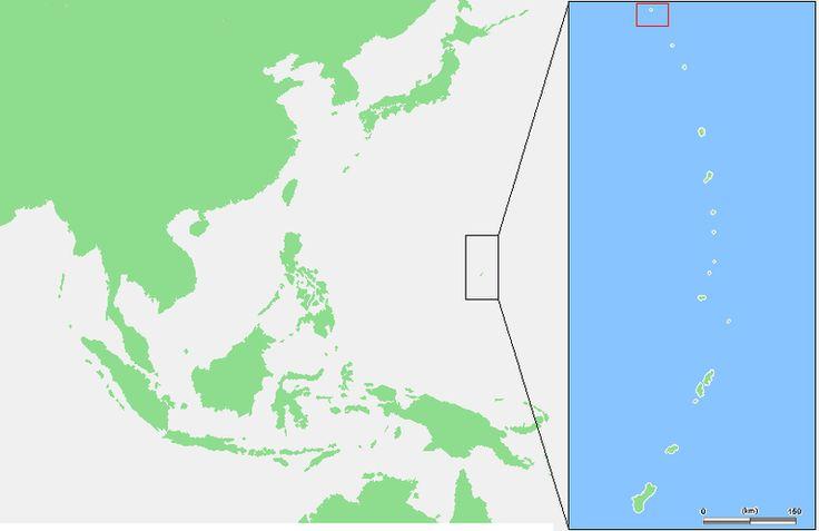Mariana Islands - Farallon de Pajaros.