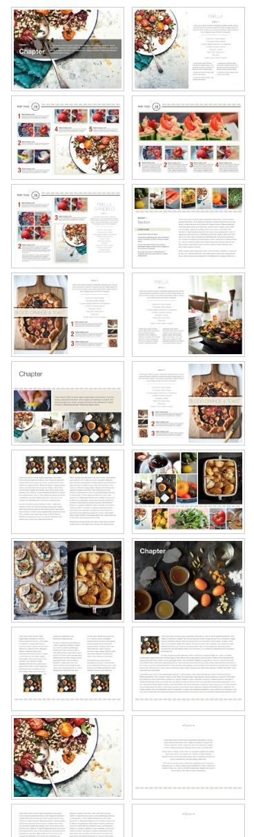 Create an interactive cookbook with iBooks Author