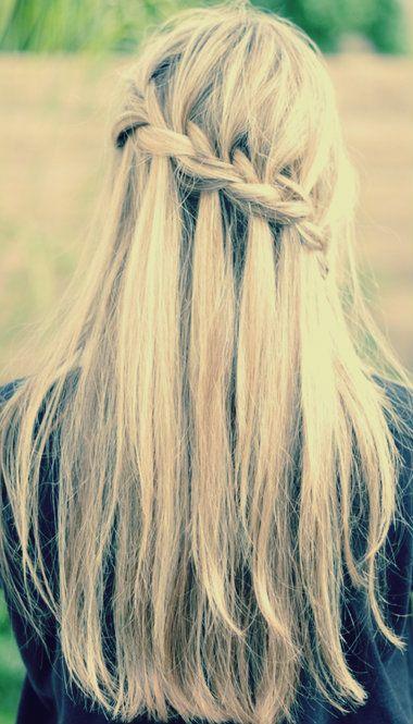 Water fall braids.