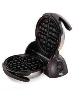 Presto 03510 FlipSide Belgian Waffle Maker    Price: 	$44.40 & eligible for FREE Super Saver Shipping.    You Save: 	$ 5.59 (11%)