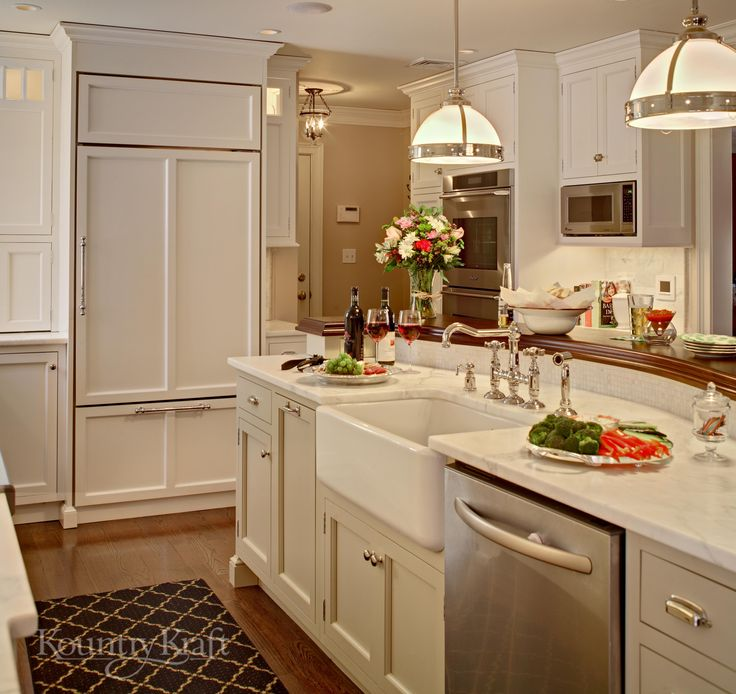 Painting Your Kitchen Cabinets Is No Small Undertaking: 1000+ Images About Custom Kitchen Cabinets On Pinterest