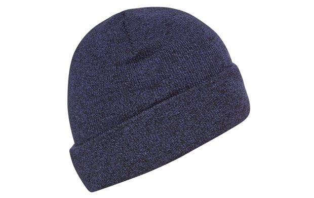 """Blue Winter Beanie. """"Keep your head toasty in the cooler weather in this relaxed knitted beanie hat."""""""