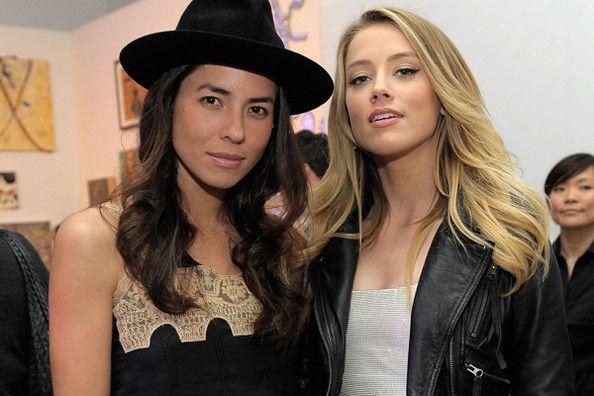 Amber Heard & Tasya Van Ree