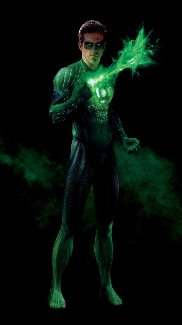 Ryan Reynolds as The Green Lantern (DC Comics).