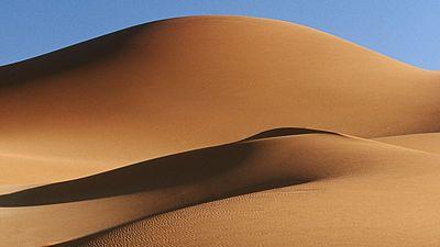 Nádherná pouštní krajina provokuje vaši fantazii.