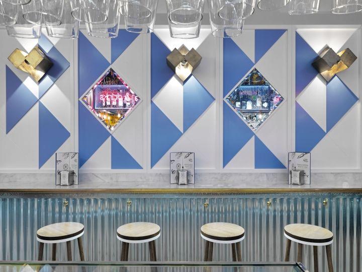Marisqueria Norte Sur Restaurant by In Out Studio, Madrid – Spain » Retail Design Blog