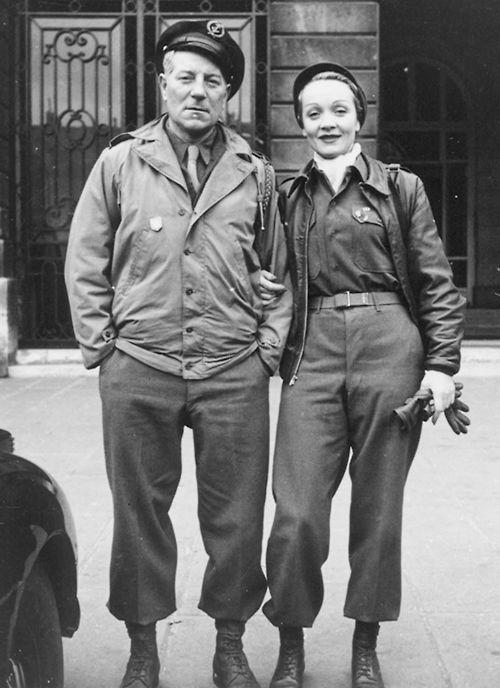 World War II: Marlene Dietrich
