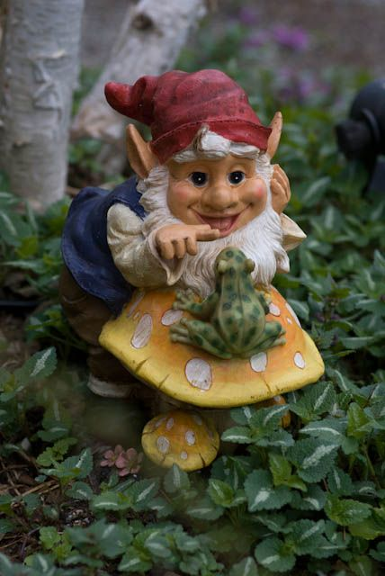 Gnome In Garden: 17 Best Images About Carved Gnome On Pinterest